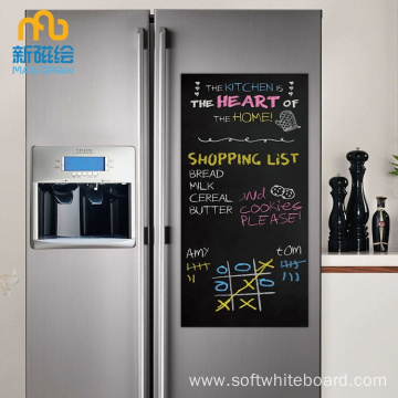 Magnetic Backed Chalkboard For Fridge